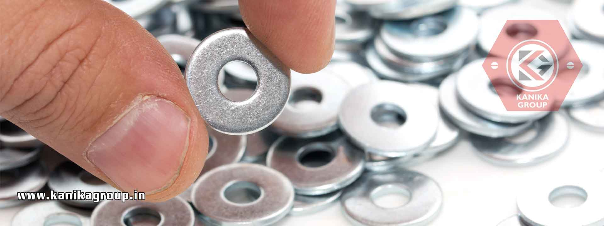 Plain Washers Flat Washers Dome Washers manufacturers exporters suppliers in India