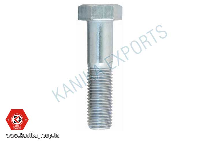 Hex Bolts Hexagonal Bolt Zinc Plated Hex Head Bolts