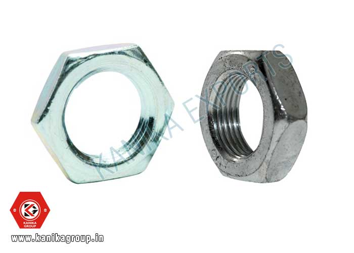 Jam Nut / Check Nut manufacturers exporters suppliers in India