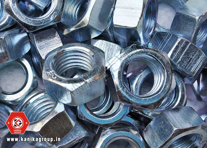 Hex Nuts Zinc Plated manufacturers exporters suppliers in India
