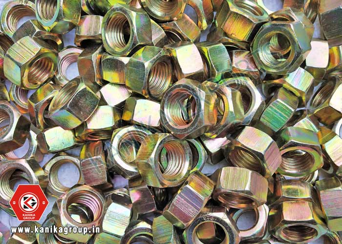 Hex Nuts Gold Plated manufacturers exporters suppliers in India