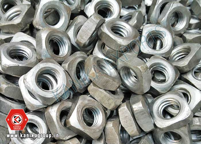 Square Nuts manufacturers exporters suppliers in India