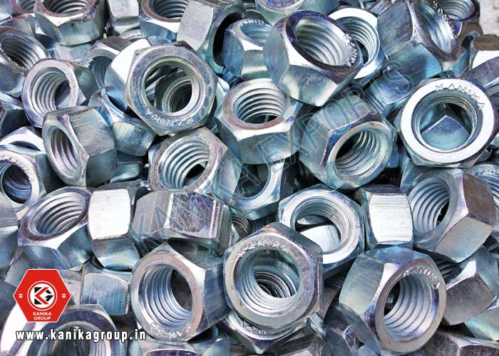 Zinc Plating Hex Nuts manufacturers exporters suppliers in India