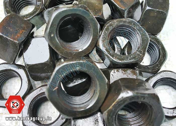 Hex Nuts Black Plating manufacturers exporters suppliers in India