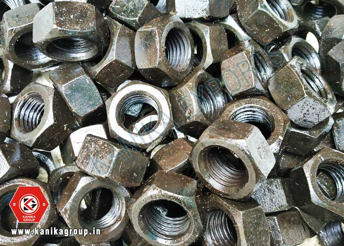 Black Plating Hex Nuts manufacturers exporters suppliers in India
