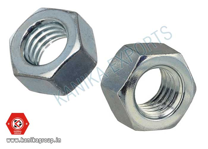 Hexagonal Nuts manufacturers exporters suppliers in India