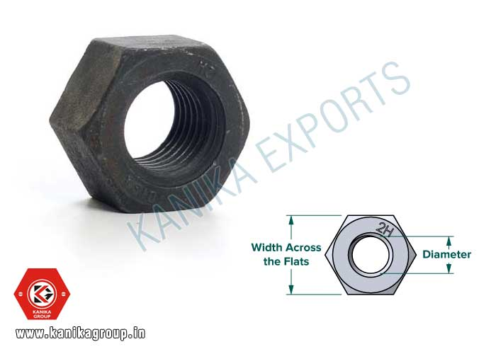 2H Hex Nut manufacturers exporters suppliers in India