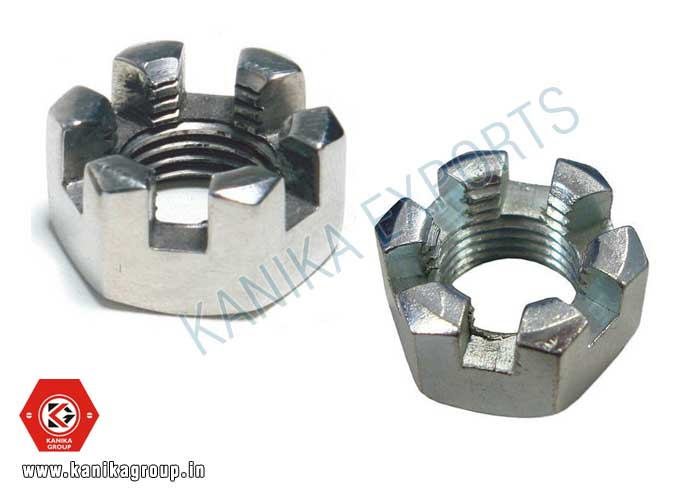 Castle Slotted Nuts manufacturers exporters suppliers in India