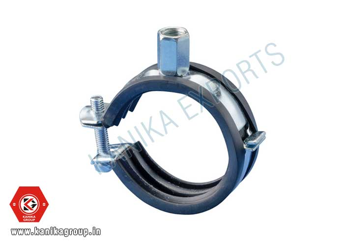 Pipe Clamp Rubber Lined manufacturers exporters suppliers in India