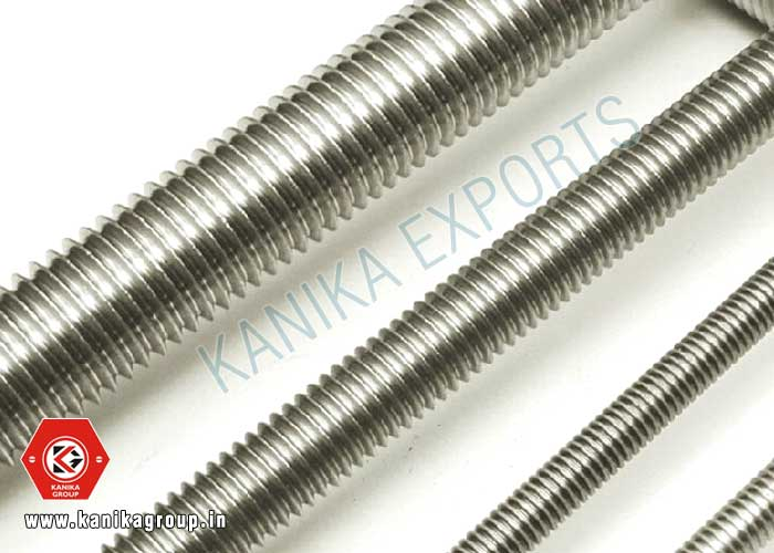 Zinc Plated Threaded Rods manufacturers exporters suppliers in India